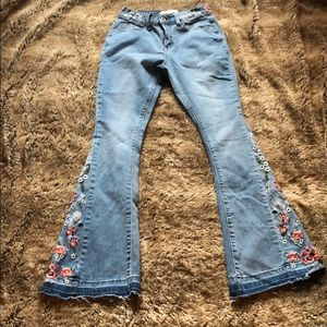 High Rise Bellbottom Jeans